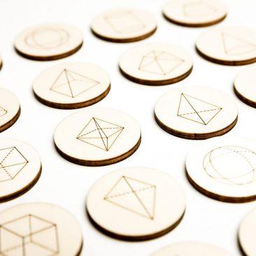 Memo game – Cifre, litere, note muzicale, forme și volume geometrice